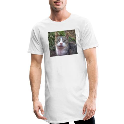 Katze Max - Männer Urban Longshirt