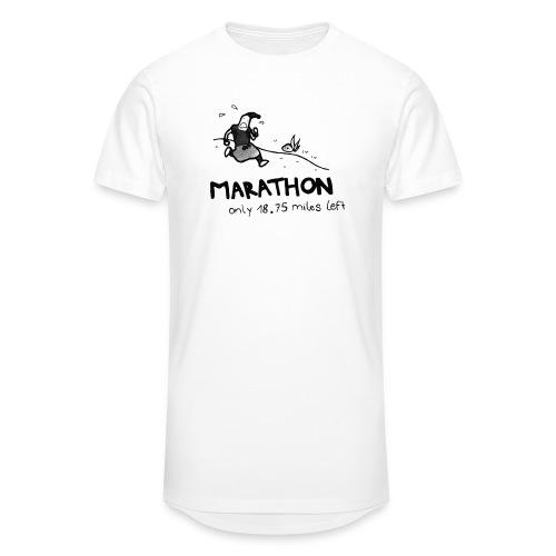 marathon-png - Długa koszulka męska urban style