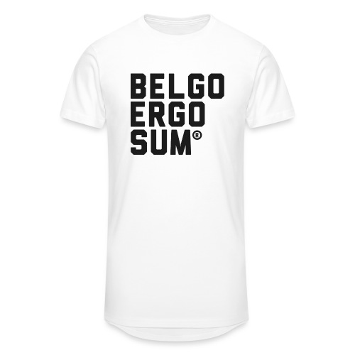 Belgo Ergo Sum - Men's Long Body Urban Tee