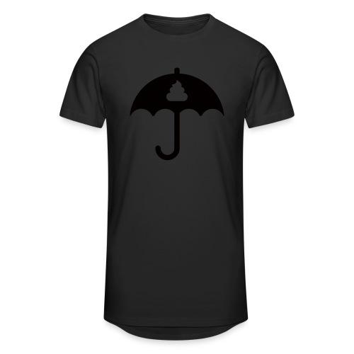 Shit icon Black png - Men's Long Body Urban Tee