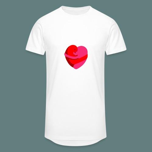 hearts hug - Maglietta  Urban da uomo