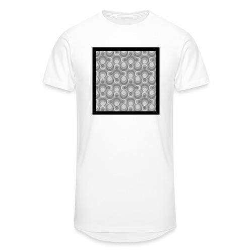 70th telly T-shirt V-Ausschnitt - Männer Urban Longshirt