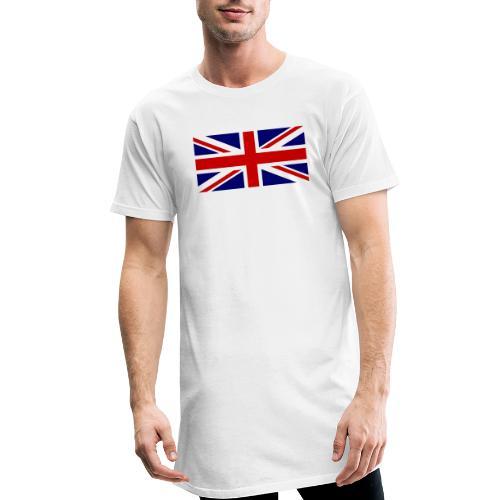 drapeau anglais - T-shirt long Homme