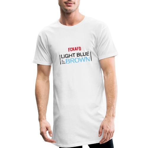 LIGHT BLUE IS THE NEW BROWN - Männer Urban Longshirt