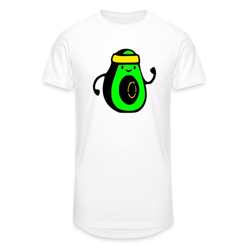 aguacate ninja - Camiseta urbana para hombre