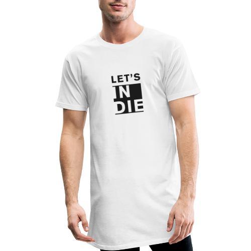 Official LET'S INDIE - Maglietta  Urban da uomo