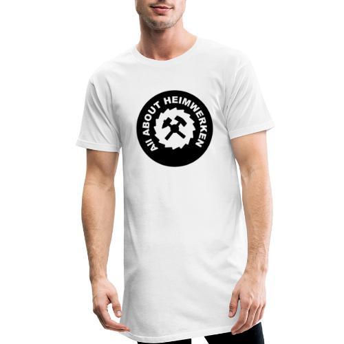 ALL ABOUT HEIMWERKEN - LOGO - Männer Urban Longshirt