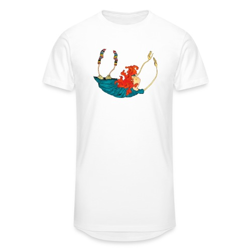 Frit fald - Herre Urban Longshirt