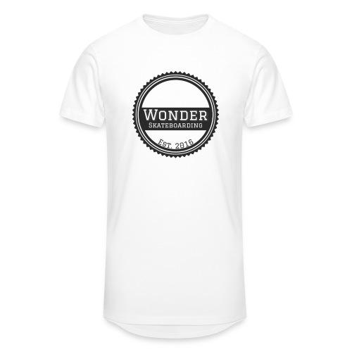 Wonder unisex-shirt round logo - Herre Urban Longshirt