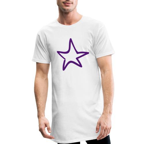 Star Outline Pixellamb - Männer Urban Longshirt