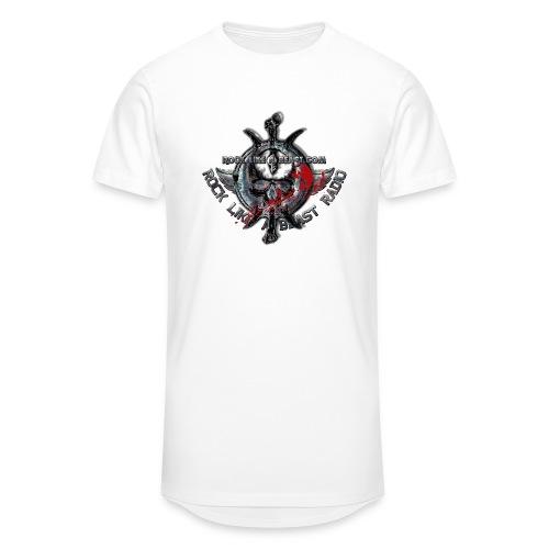 Blood Skull Logo - Urban lång T-shirt herr