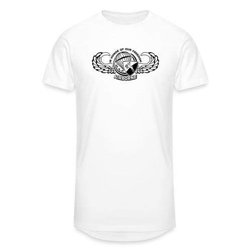 HAF tshirt back2015 - Men's Long Body Urban Tee