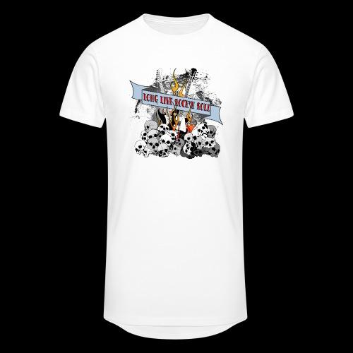 long live - Urban lång T-shirt herr