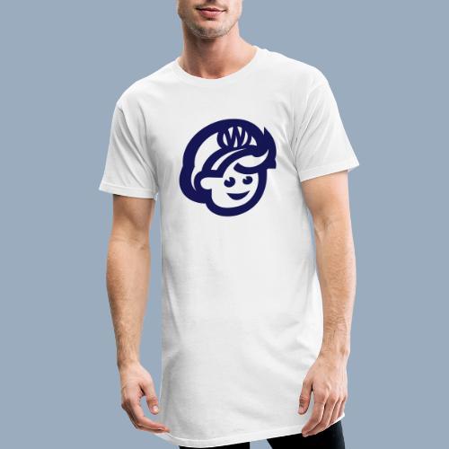 logo bb spreadshirt bb kopfonly - Men's Long Body Urban Tee
