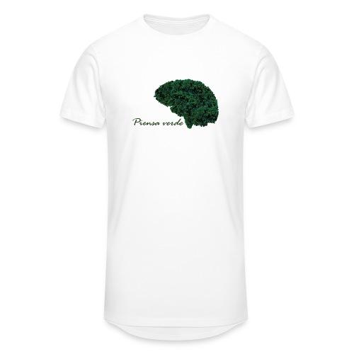 Piensa verde - Camiseta urbana para hombre