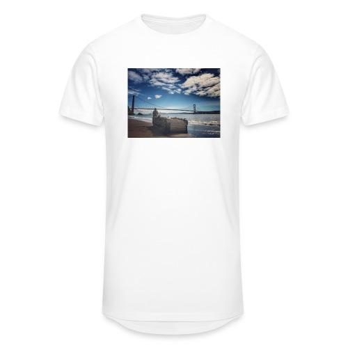 poncio - Camiseta urbana para hombre
