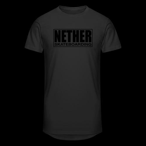 Nether Skateboarding T-shirt Black - Maglietta  Urban da uomo