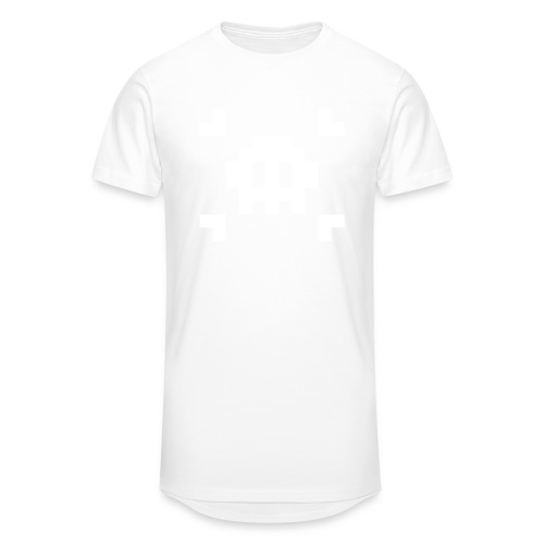 Mug Pixel Skull - T-shirt long Homme