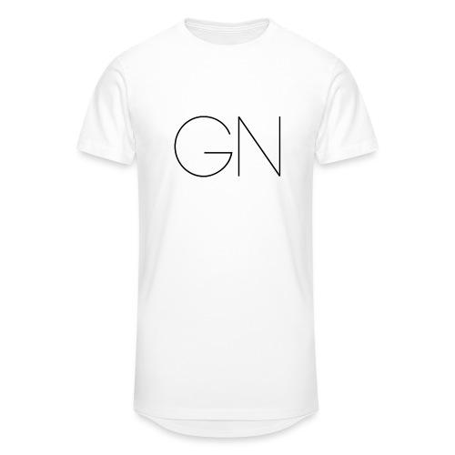 Långärmad tröja GN slim text - Urban lång T-shirt herr