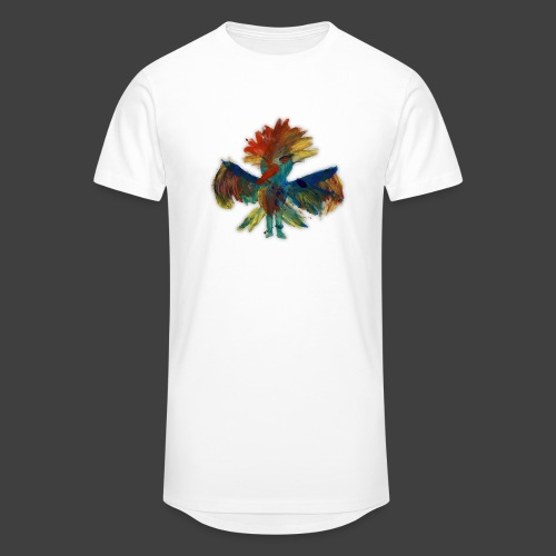Mayas bird - Men's Long Body Urban Tee