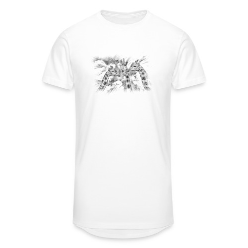 les girafes bavardes - T-shirt long Homme
