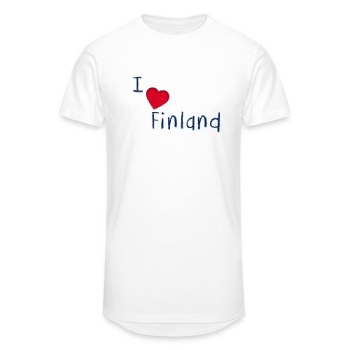 I Love Finland - Miesten urbaani pitkäpaita