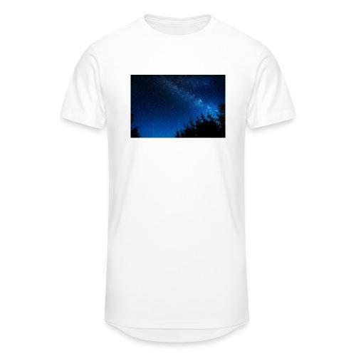 sterrenhemel afdruk/print - Mannen Urban longshirt