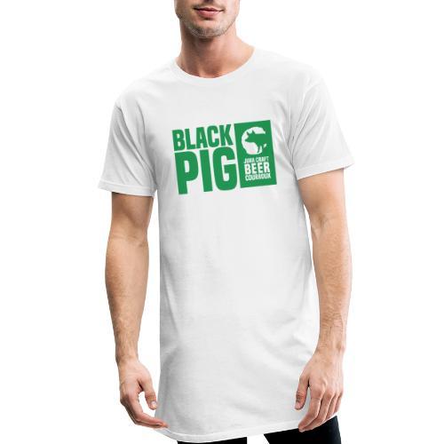 BlackPig Horizontal Vert - T-shirt long Homme