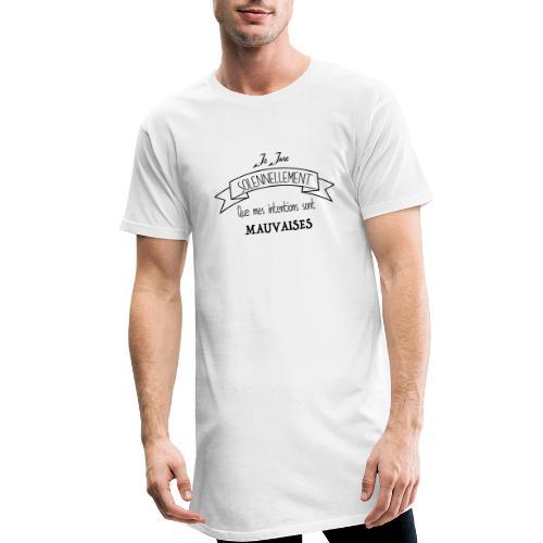 Je jure solennellement - T-shirt long Homme