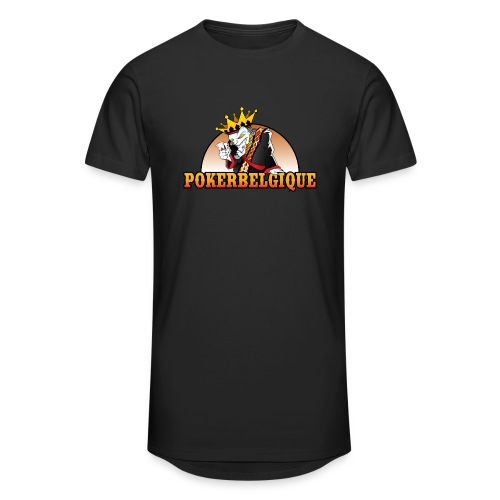 Logo Poker Belgique - T-shirt long Homme