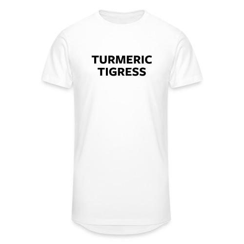 Turmeric Tigress - Men's Long Body Urban Tee