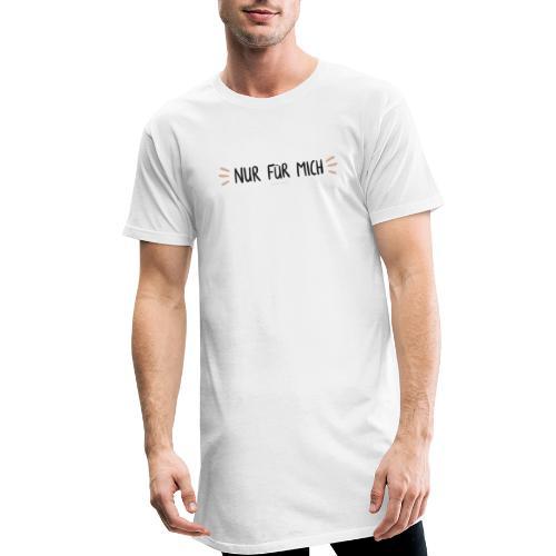 Nur für mich #SelbstliebeKollektion - Männer Urban Longshirt