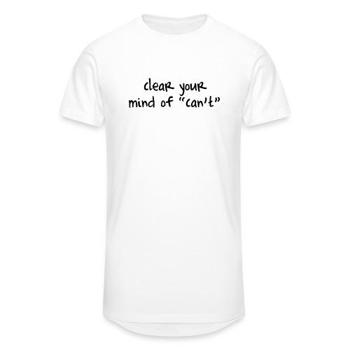 ''Clear your mind of Can't'' Motivational T-shirts - Maglietta  Urban da uomo