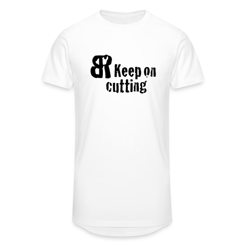 keep on cutting 1 - Männer Urban Longshirt