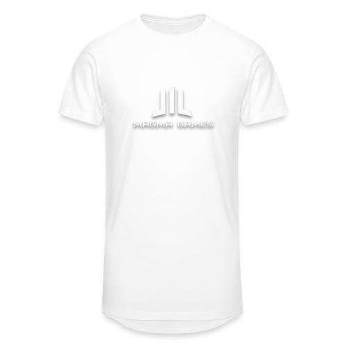 Magma Games t-shirt - Mannen Urban longshirt