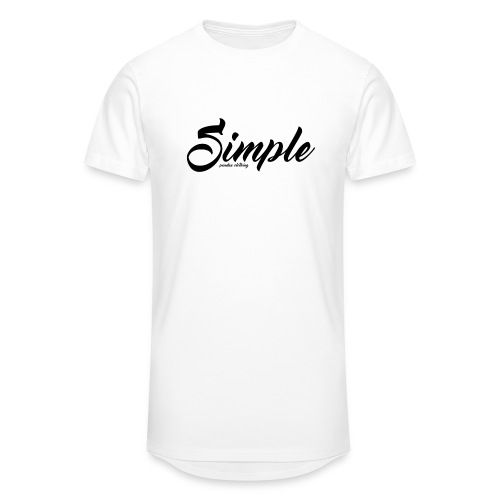Simple: Clothing Design - Men's Long Body Urban Tee