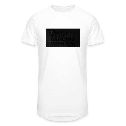 test dancing - Długa koszulka męska urban style