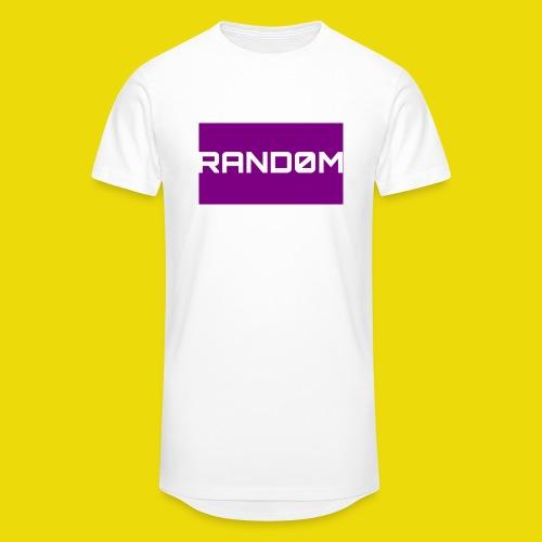 Random Logo - Men's Long Body Urban Tee