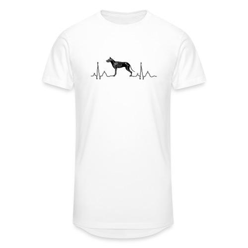 ECG met hond - Mannen Urban longshirt