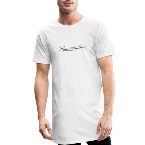 Humanity love - Männer Urban Longshirt