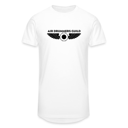 ADG Drum'n'Wings Emblem - Men's Long Body Urban Tee