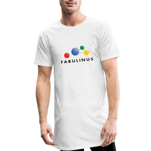 Fabulinus logo dubbelzijdig - Mannen Urban longshirt