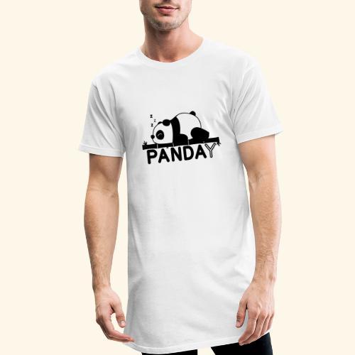 Panday print design - Herre Urban Longshirt