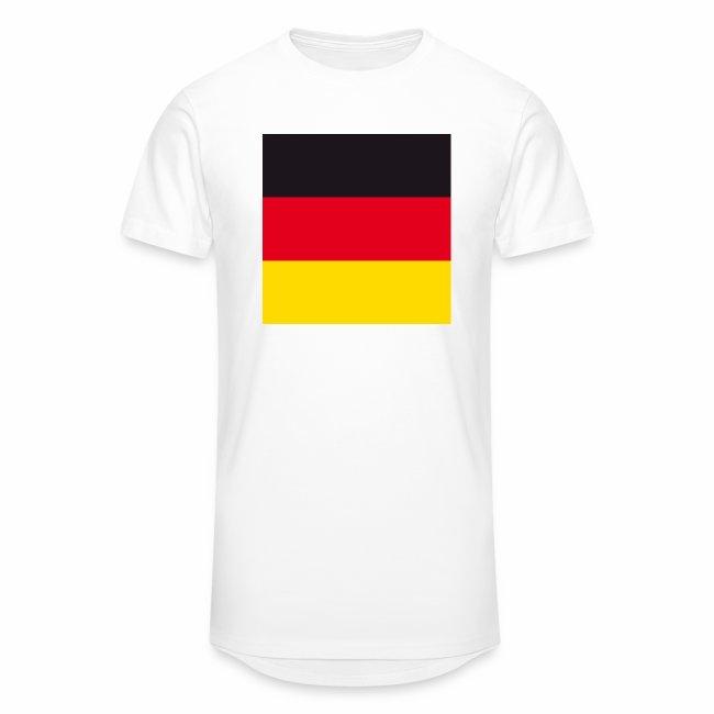 Fahne Deutschland fuer buttons