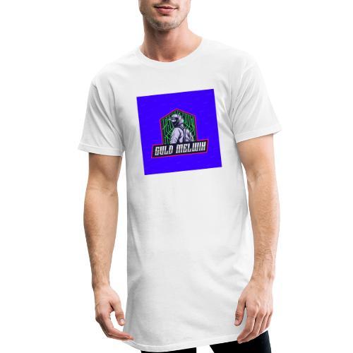 Guld Melwin - Urban lång T-shirt herr