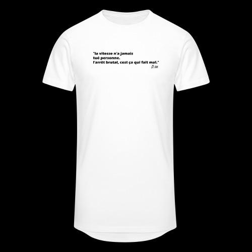 vitesse (noir) - T-shirt long Homme