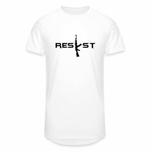 resist - T-shirt long Homme