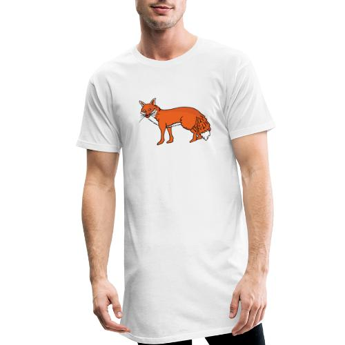 Roxo le renard - T-shirt long Homme