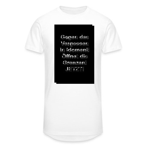 Gegen das Vergessen - Männer Urban Longshirt