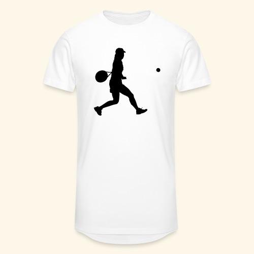tennis woman 2 - T-shirt long Homme